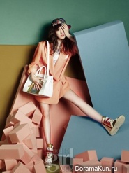 Tiffany (SNSD) для Vogue Girl March 2013