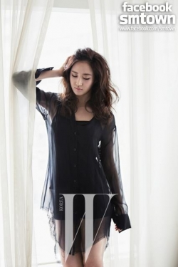 Yuri (SNSD) для W Korea April 2012