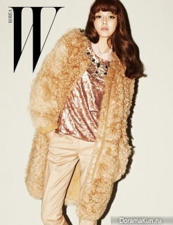 SNSD (SooYoung) для W Korea October 2013