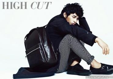 Seo In Guk для High Cut Vol. 92