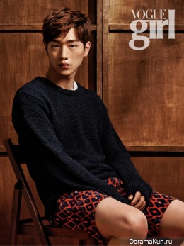 Seo Kang Joon для Vogue Girl Korea July 2014