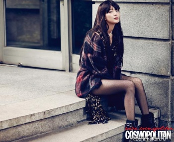 Shin Min Ah для Cosmopolitan Korea September 2013