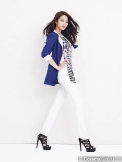 Shin Min Ah для JOINUS 2013 Ads