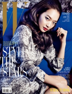 Shin Min Ah для W Korea September 2011
