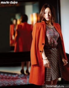 Shin Se Kyung для Marie Claire October 2012