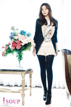 Shin Se Kyung для Soup Fall/Winter 2011/12 Catalogue