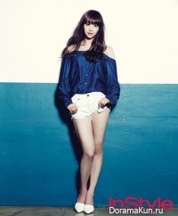 Sistar (Bora, Dasom) для Instyle Korea September 2013 Extra
