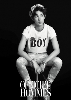 Children of Empires Siwan для LOfficiel Hommes Korea May 2012