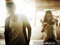 So Ji Sub, Shin Min Ah для Giordano 2012