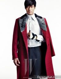 So Ji Sub для W Korea October 2012 Extra