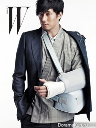 So Ji Sub для W Korea October 2012