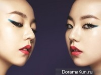 Sohee (Wonder Girls) для Allure Magazine July 2014