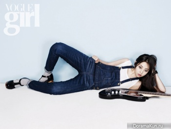 Sohee (Wonder Girls) для Vogue Girl Korea 2012