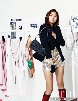 After School, Son Dam Bi для Elle Korea 2010