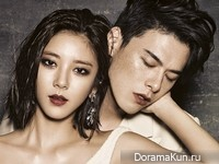 Son Dam Bi, Kim Won Joong для Grazia Korea October 2013