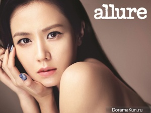Son Ye Jin для Allure Korea October 2012