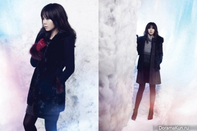 Son Ye Jin для Châtelaine Winter 2012 Ads