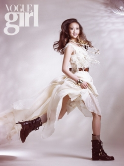 Son Yeon Jae для Vogue Girl January 2010
