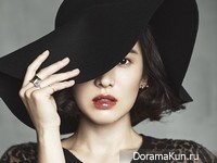 Song Hye Kyo для Harper's Bazaar Korea October 2013