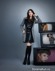 Song Ji Hyo для YESSE Winter 2013 Campaign