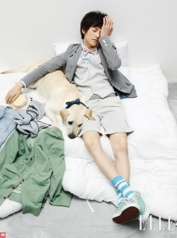 Song Joong Ki для Elle Girl Korea August 2010