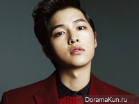 Song Joong Ki для Harper's Bazaar Man March 2013