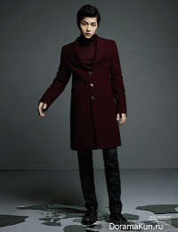 Song Joong Ki для Harper's Bazaar October 2012 Extra