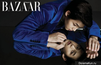 Song Joong Ki для Harper's Bazaar October 2012