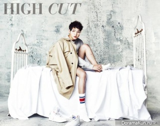 Song Joong Ki для High Cut Vol. 92
