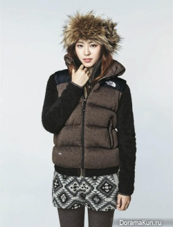 Song Joong Ki, Lee Yeon Hee для The North Face F/W 2013 Ads