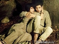 Song Joong Ki, Park Bo Young для Vogue October 2012