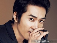 Song Seung Heon для High Cut Vol. 110