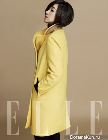 Soo Ae для Elle Korea October 2012