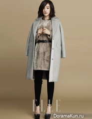 Soo Ae для Elle October 2012 Extra