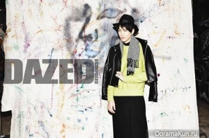Sung Joon для Dazed & Confused February 2013