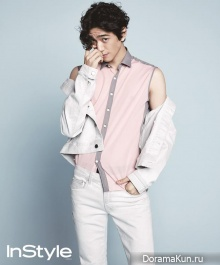 Sung Joon для InStyle Korea May 2014