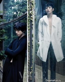 Sung Joon, Lee Soo Hyuk для Vogue June 2013 Extra