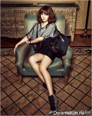 Sung Yuri для Marie Claire January 2013
