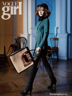 Sung Yuri для Vogue Girl November 2012 Extra