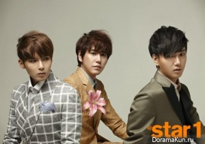 Super Junior KRY для @Star1 Korea March 2013