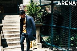 Choi Siwon для Arena Homme Plus November 2013
