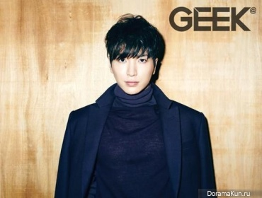 Leeteuk (Super Junior) для GEEK December 2012