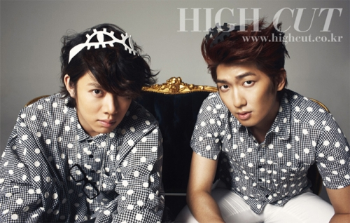 M&D Super Juniors Heechul, TRAXs Jungmo для High Cut Vol. 56