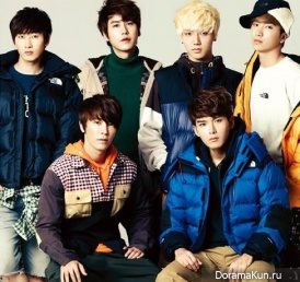 Super Junior для High Cut Vol. 88