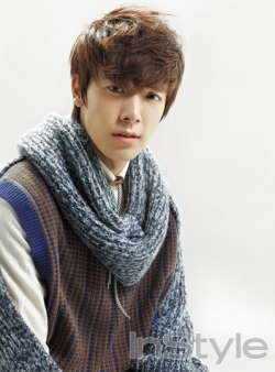Super Junior's Donghae для InStyle Korea January 2011
