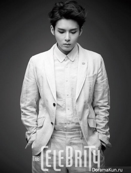 Super Junior (RyeoWook) для The Celebrity June 2014