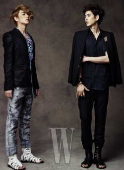 Super Junior для W Korea June 2010