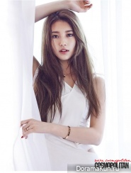Suzy (Miss A) для Cosmopolitan Korea July 2014