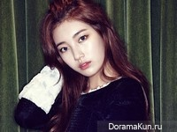 Suzy (Miss A) для Cosmopolitan Korea September 2013