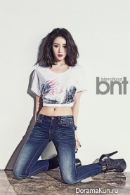 T-Ara (Ji Yeon) для BNT International May 2014